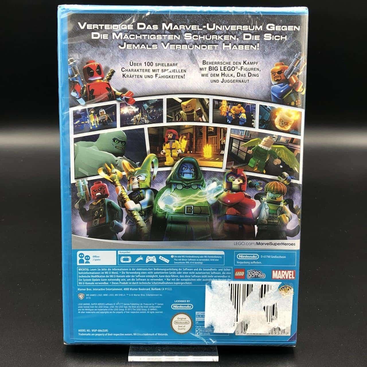 Lego Marvel Super Heroes (NEU) Nintendo WiiU
