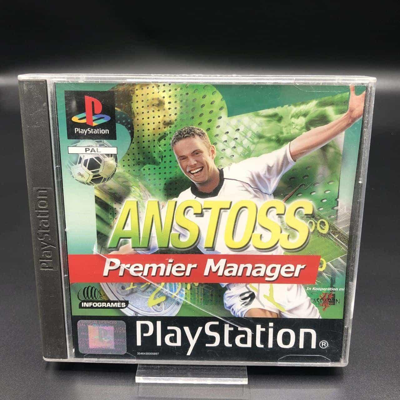 PS1 Anstoß Premier Manager (Komplett) (Gut) Sony PlayStation 1