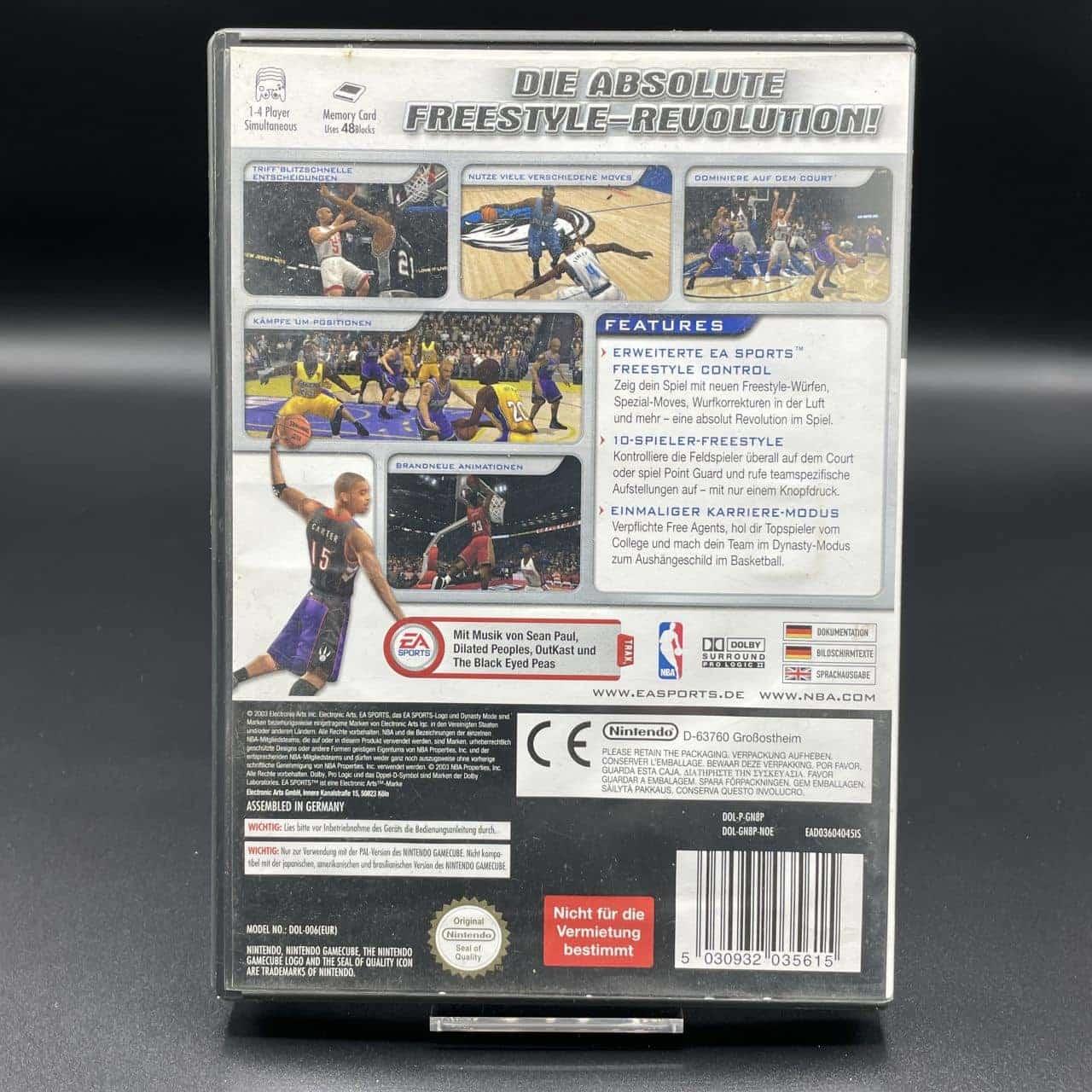 GC NBA Live 2004 (Komplett) (Gebrauchsspuren) Nintendo Gamecube