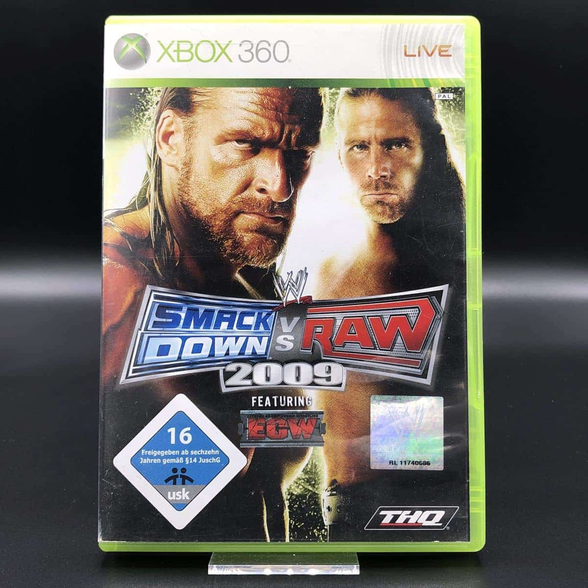 WWE SmackDown vs. Raw 2009 (ohne Anleitung) (Gut) XBOX 360