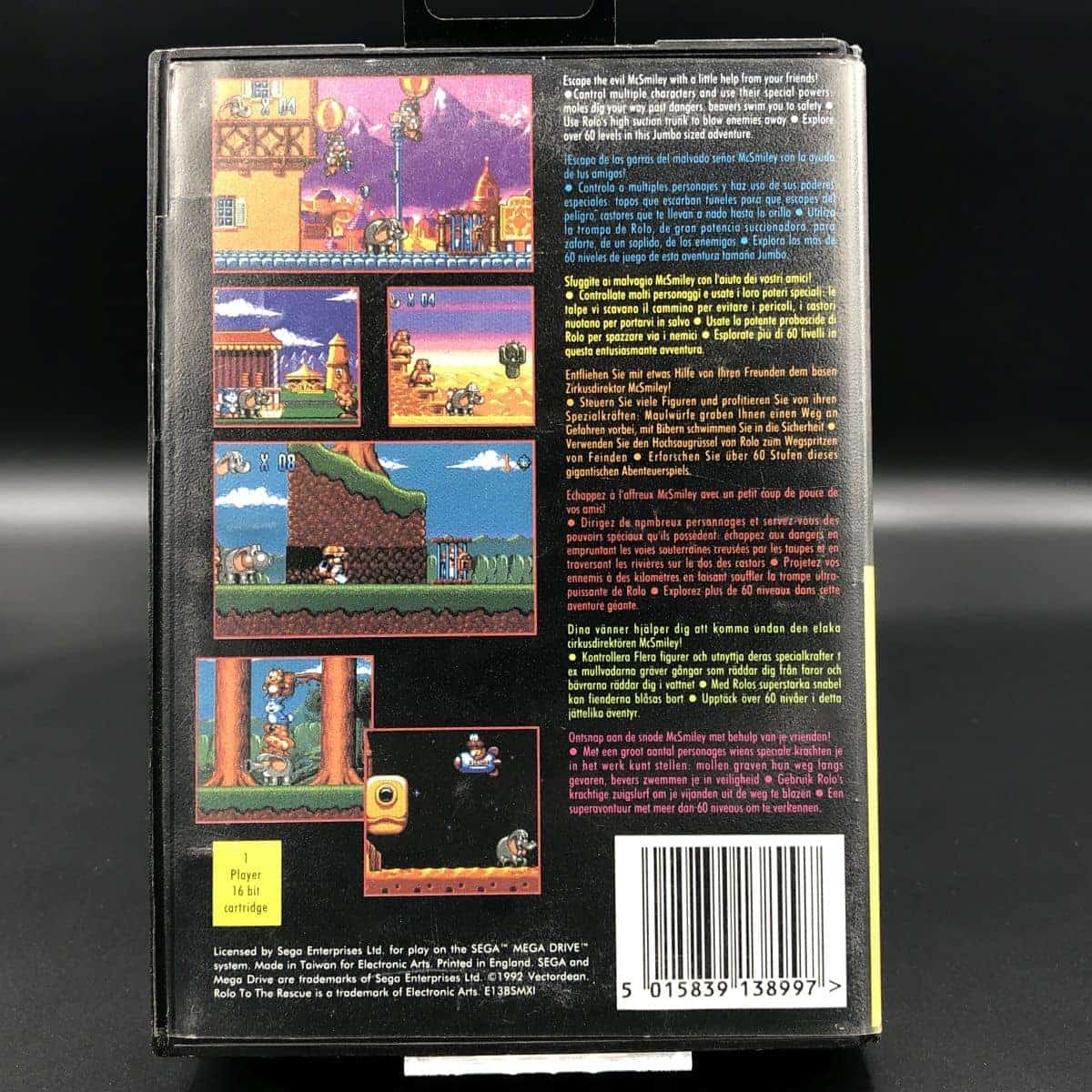 Rolo to the Rescue (ohne Anleitung) (Sehr gut) Sega Mega Drive