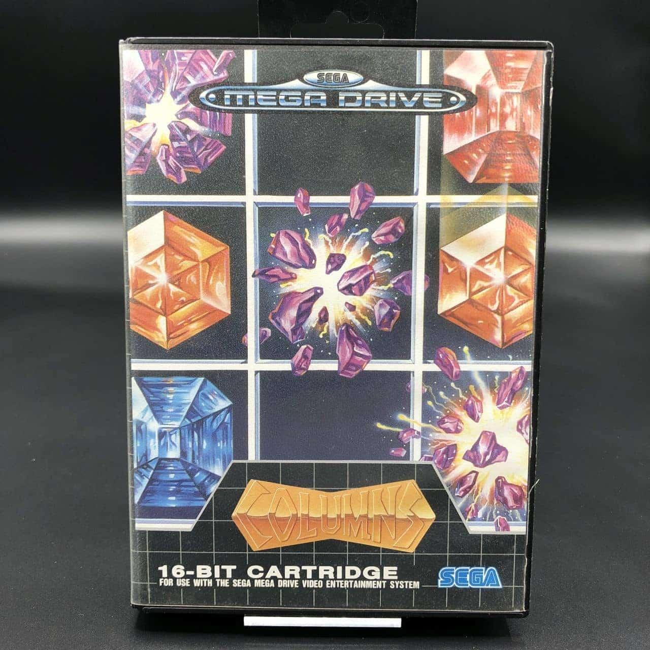 Columns (Komplett) (Gut) Sega Mega Drive