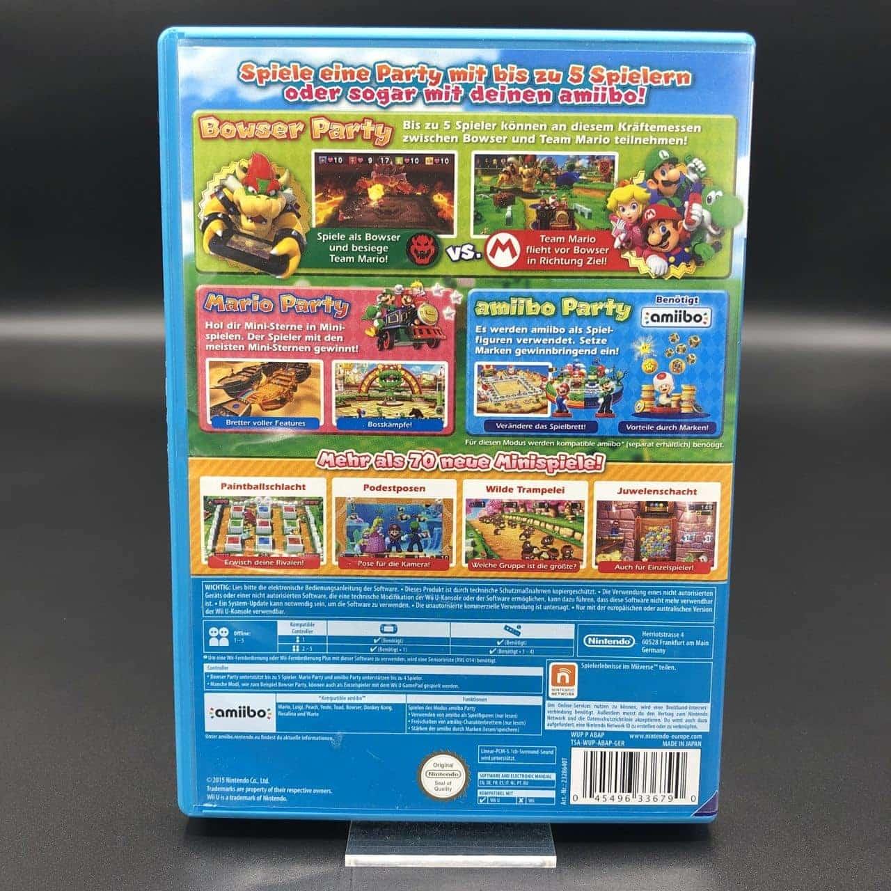 Mario Party 10 (Nintendo Selects) (Sehr gut) Nintendo WiiU