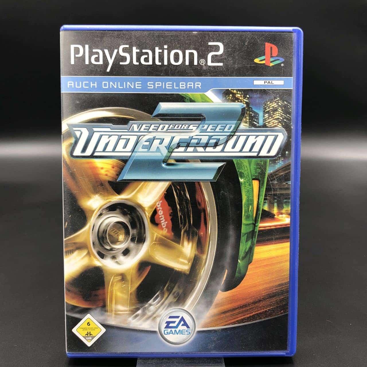 PS2 Need for Speed: Underground 2 (Komplett) (Gebrauchsspuren) Sony PlayStation 2