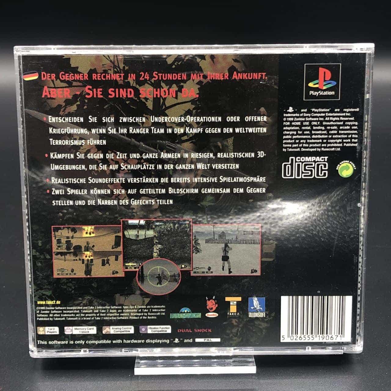 PS1 Spec Ops: Stealth Patrol (Komplett) (Sehr gut) Sony PlayStation 1 (FSK18)