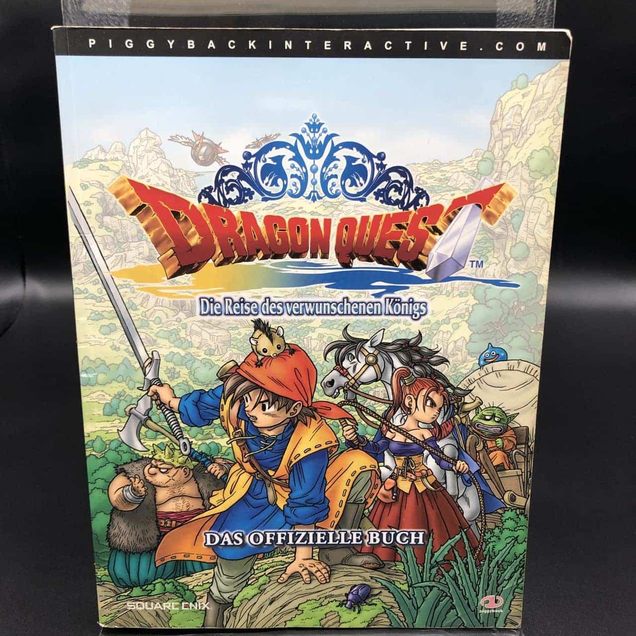 Dragon Quest: Die Reise des verwunschenen Königs  (Spieleberater / Das Offizielle Buch) (Gut)