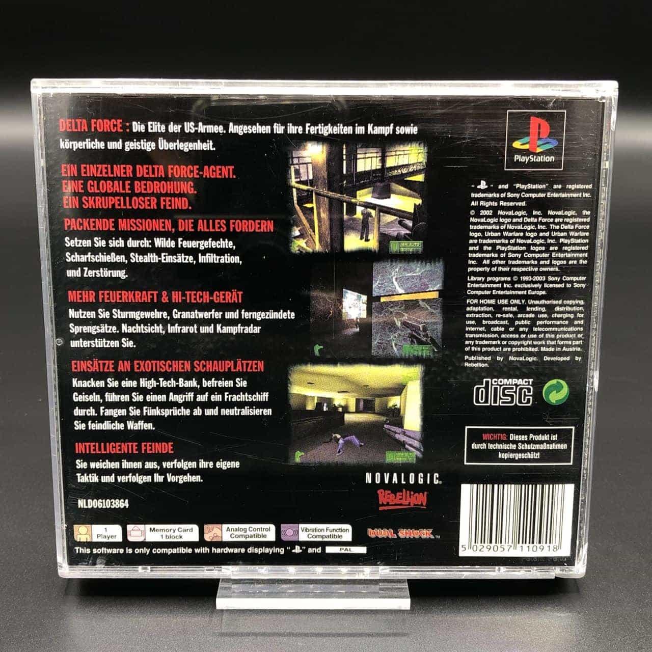 PS1 Delta Force: Urban Warfare (Komplett) (Sehr gut) Sony PlayStation 1