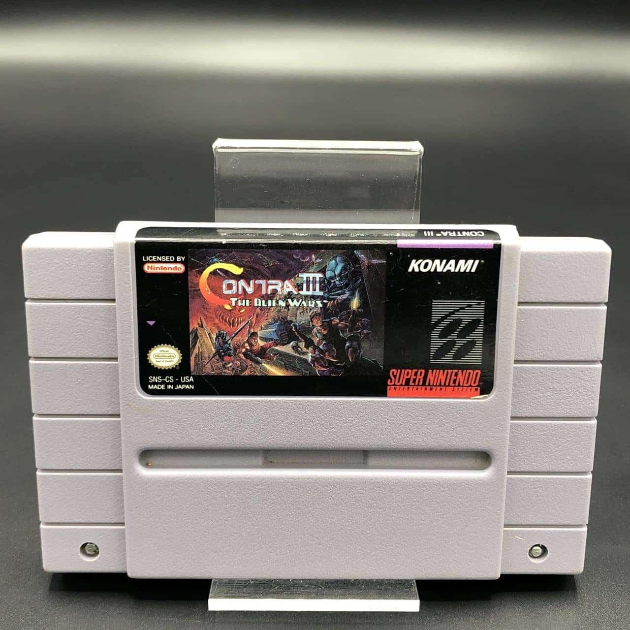 SNES Contra III: The Alien Wars (Super Probotector: Alien Rebels) (Import) (Modul) (Gut) Super Nintendo