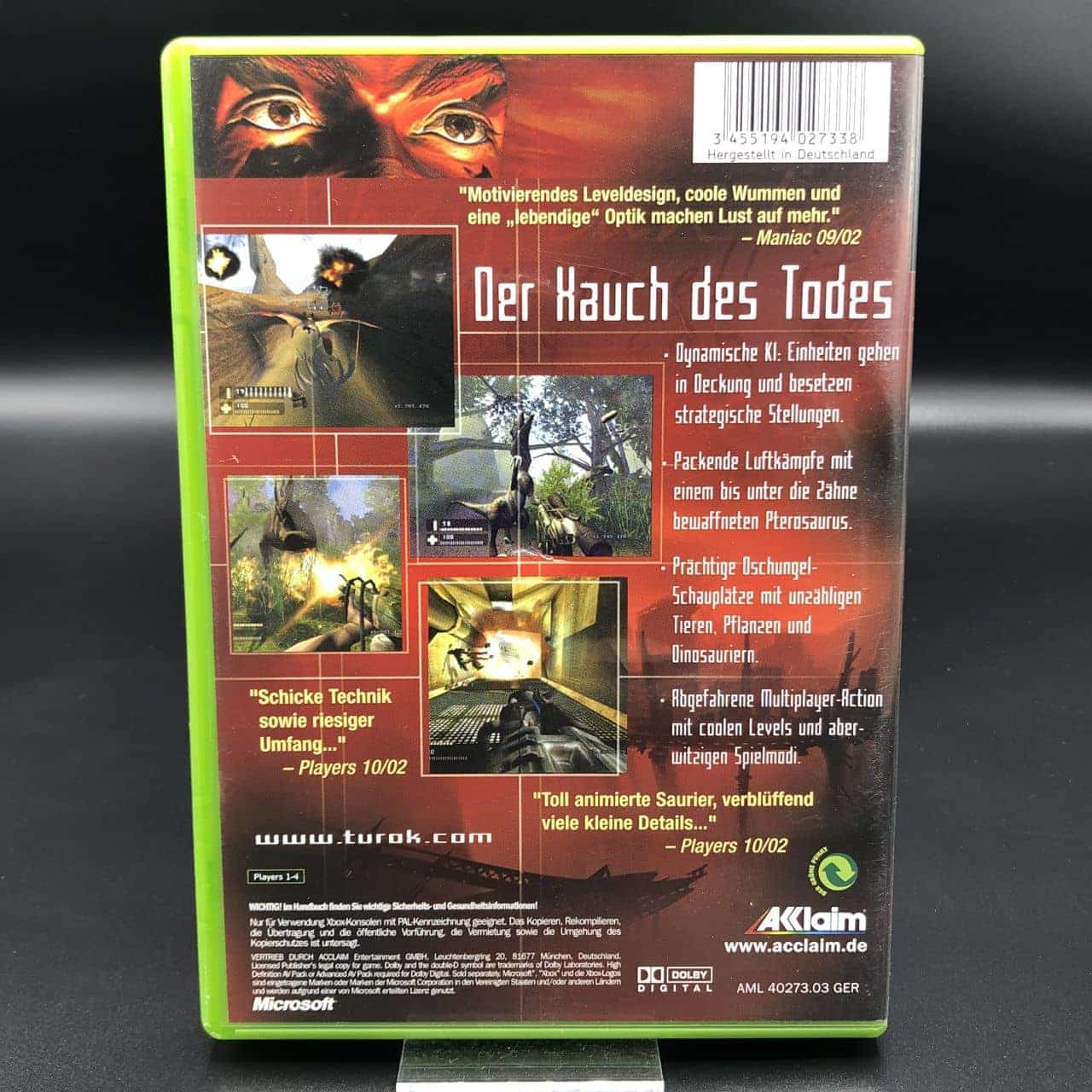 XBC Turok: Evolution (Komplett) (Gut) Microsoft Xbox Classic