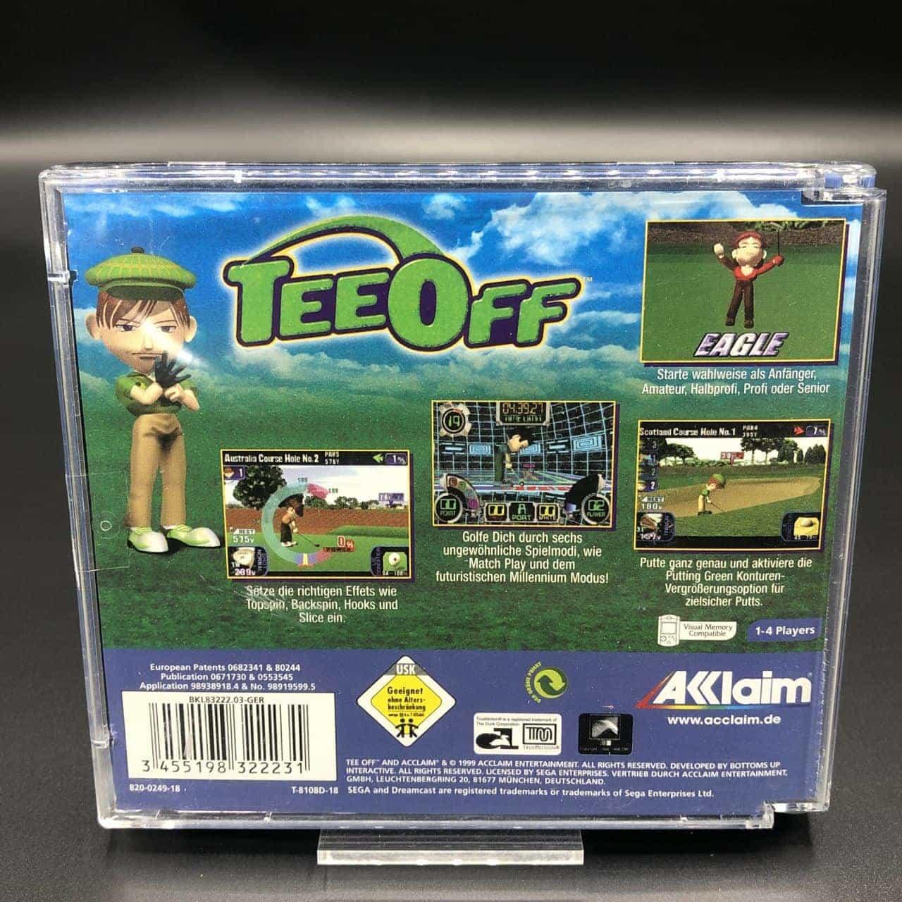 Tee Off (Komplett) (Sehr gut) Sega Dreamcast #1