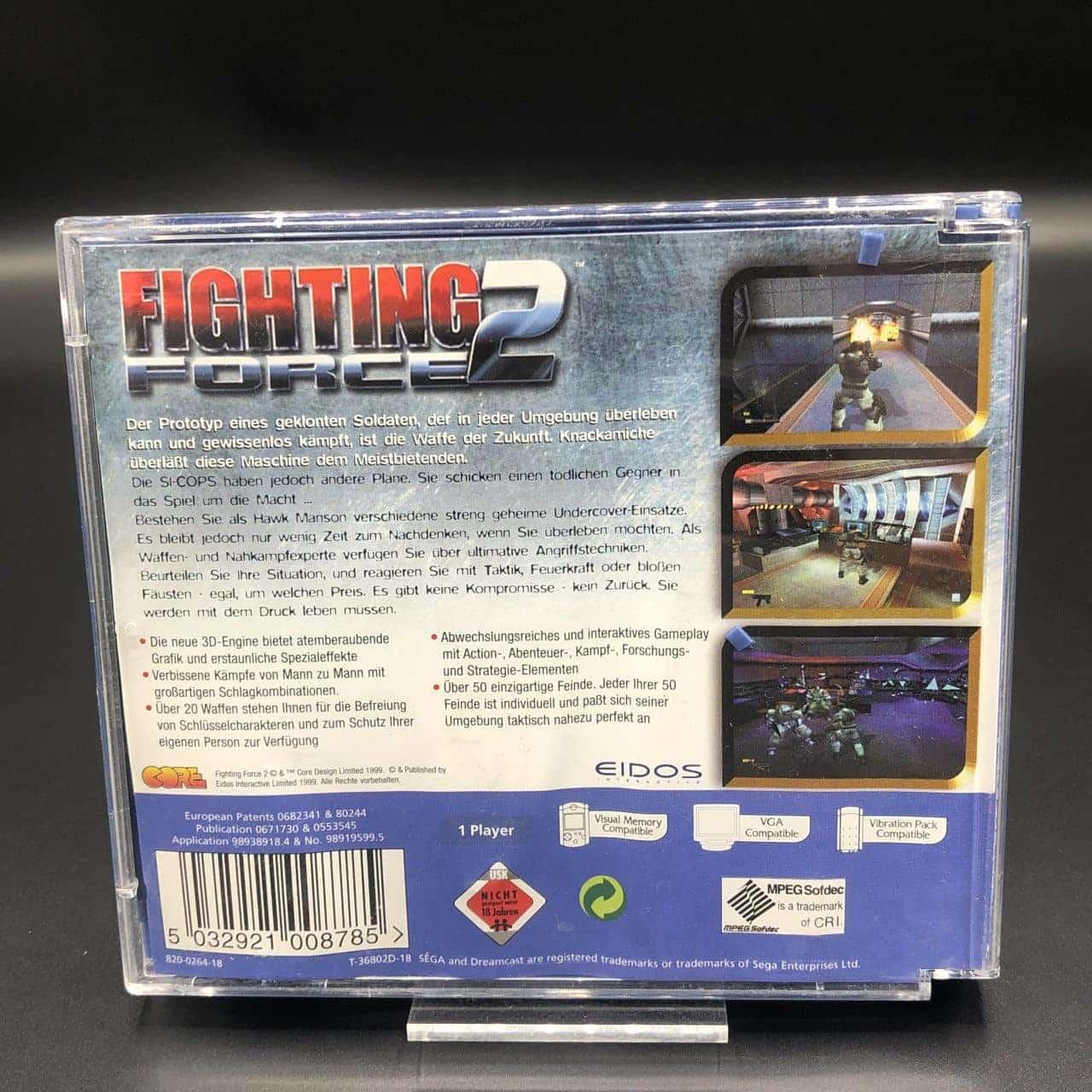 Fighting Force 2 (Komplett) (Gebrauchsspuren) Sega Dreamcast (FSK18)
