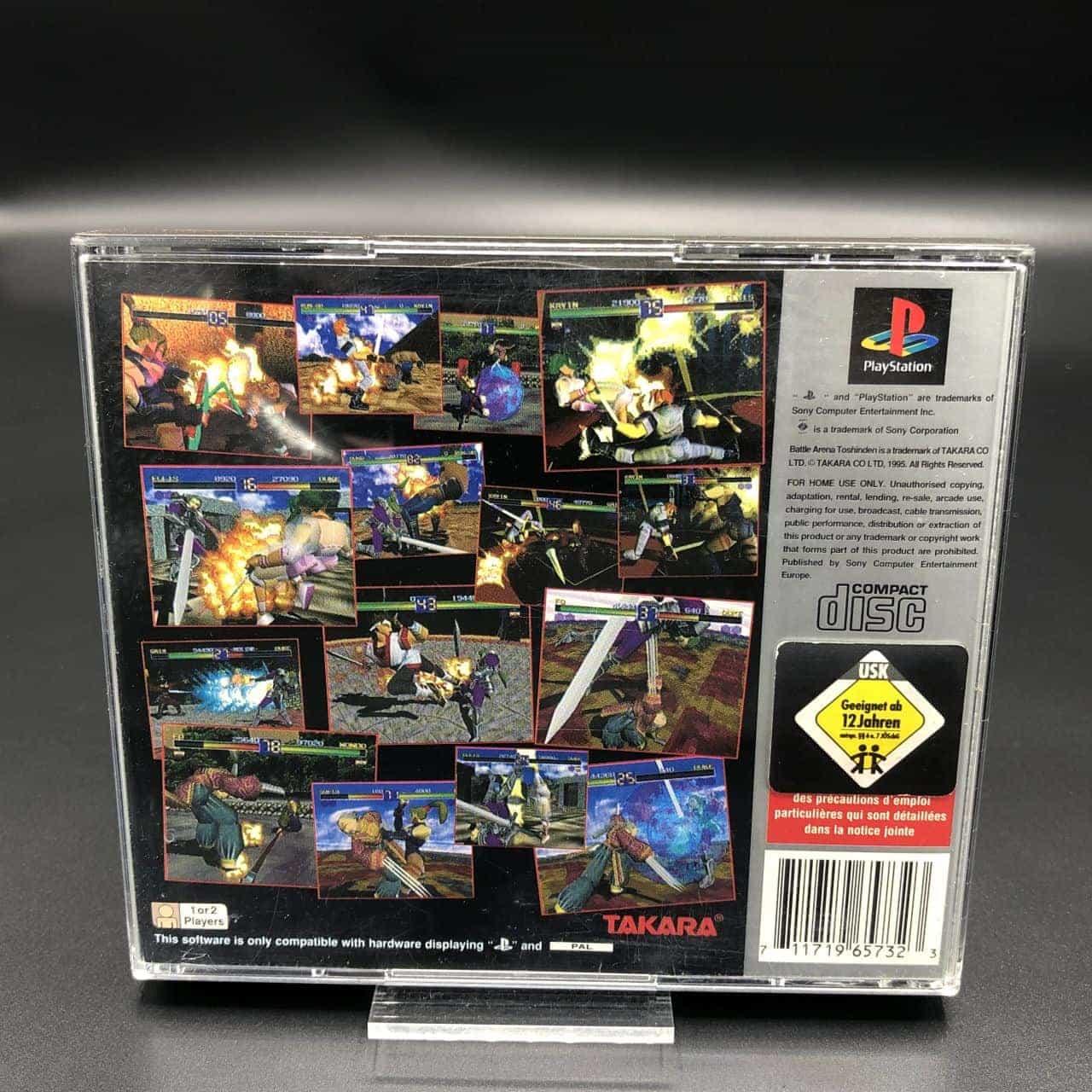 PS1 Battle Arena Toshinden (Platinum) (Komplett) (Gut) Sony PlayStation 1