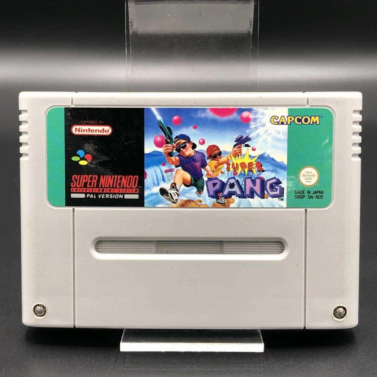 SNES Super Pang (Modul) (Sehr gut) Super Nintendo