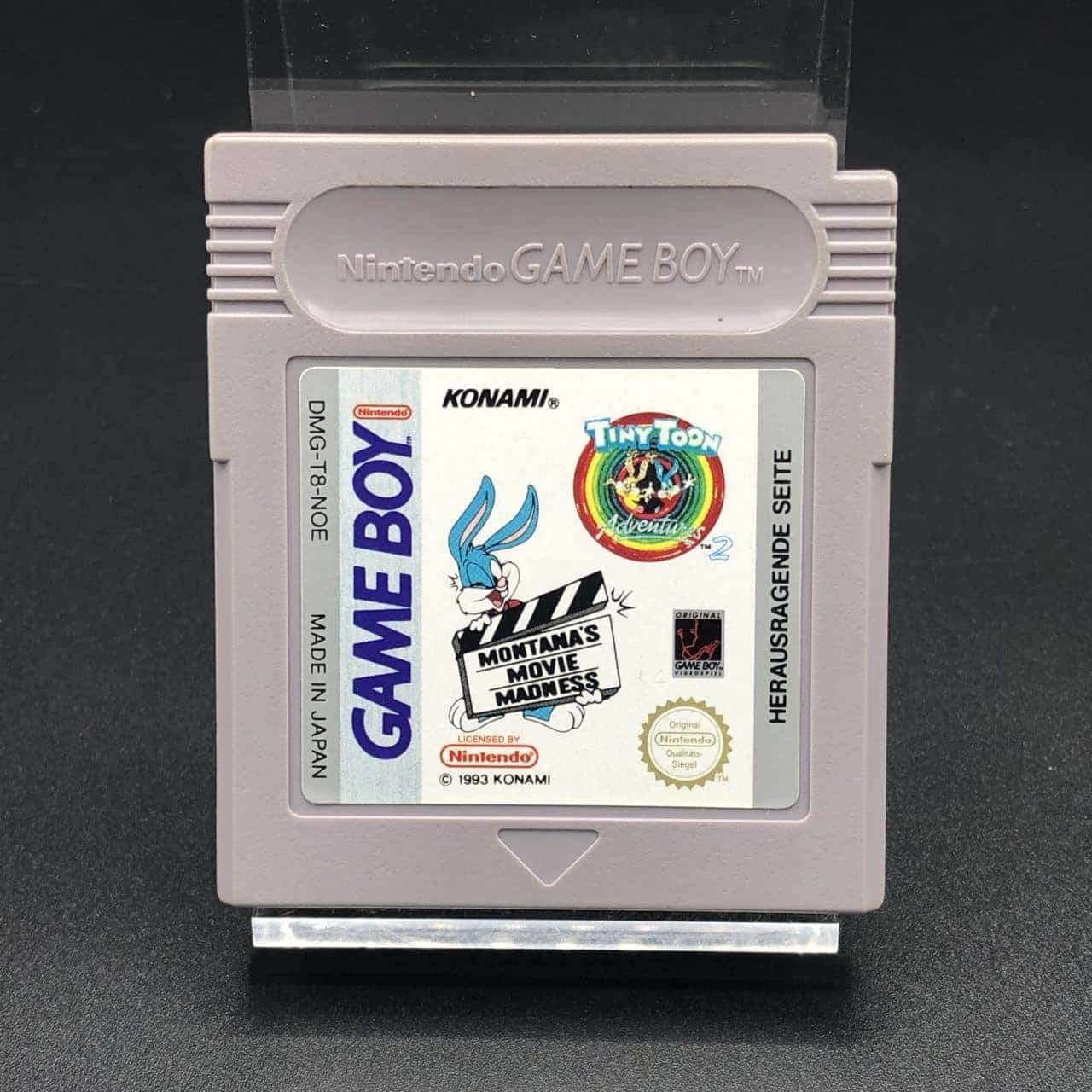GB Tiny Toon Adventures 2: Montana's Movie Madness (Modul) (Gut) Nintendo Game Boy