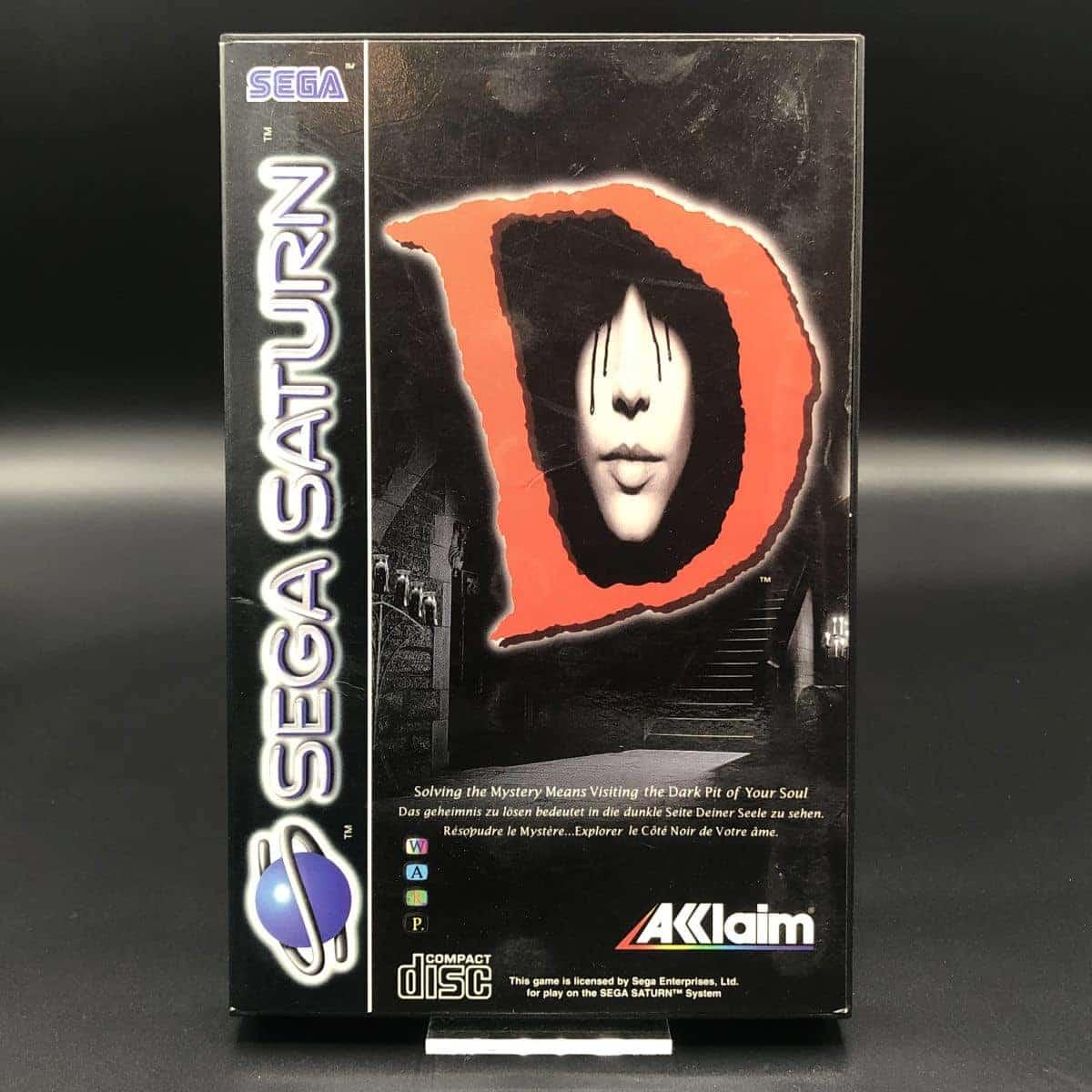 D (Komplett) (Gut) Sega Saturn