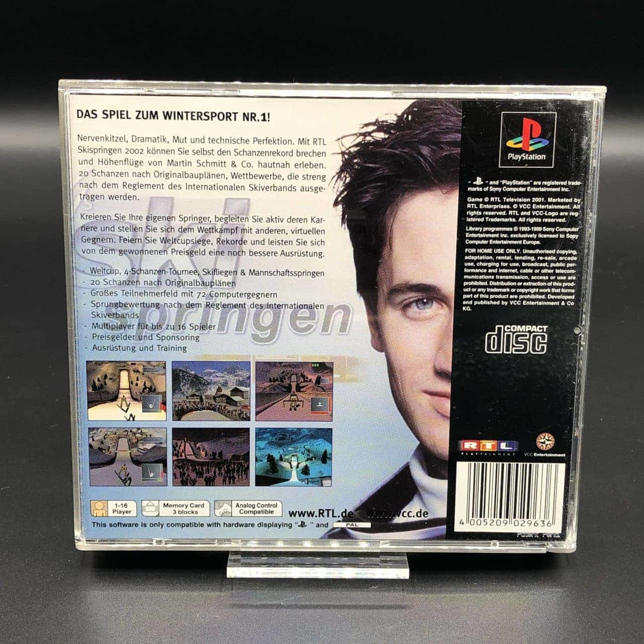 PS1 RTL Ski Springen 2002 (Komplett) (Sehr gut) Sony PlayStation 1
