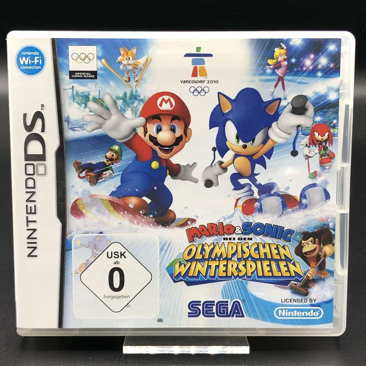 Mario & Sonic at the Olympic Winter Games (Komplett) (Sehr gut) Nintendo DS