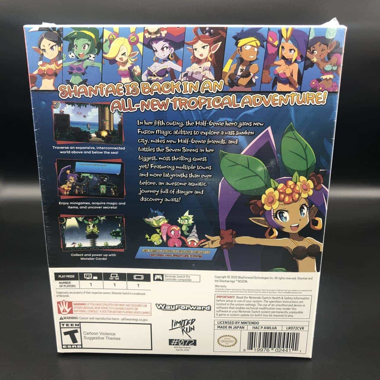Shantae and the Seven Sirens (Import) (Collector's Edition) (NEU) Nintendo Switch