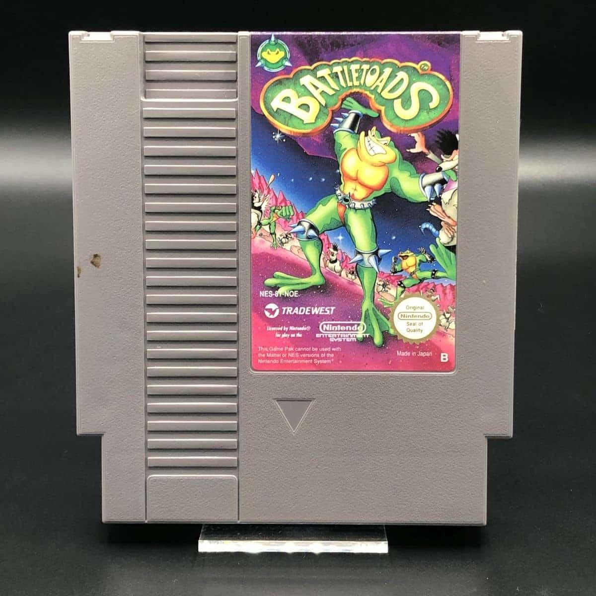 NES Battletoads (Komplett) (Gut) Nintendo Entertainment System