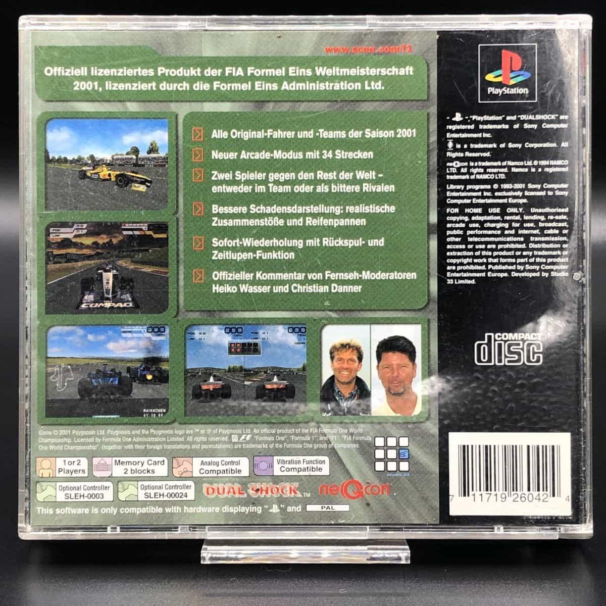 PS1 Formel Eins 2001 (Komplett) (Gut) Sony PlayStation1