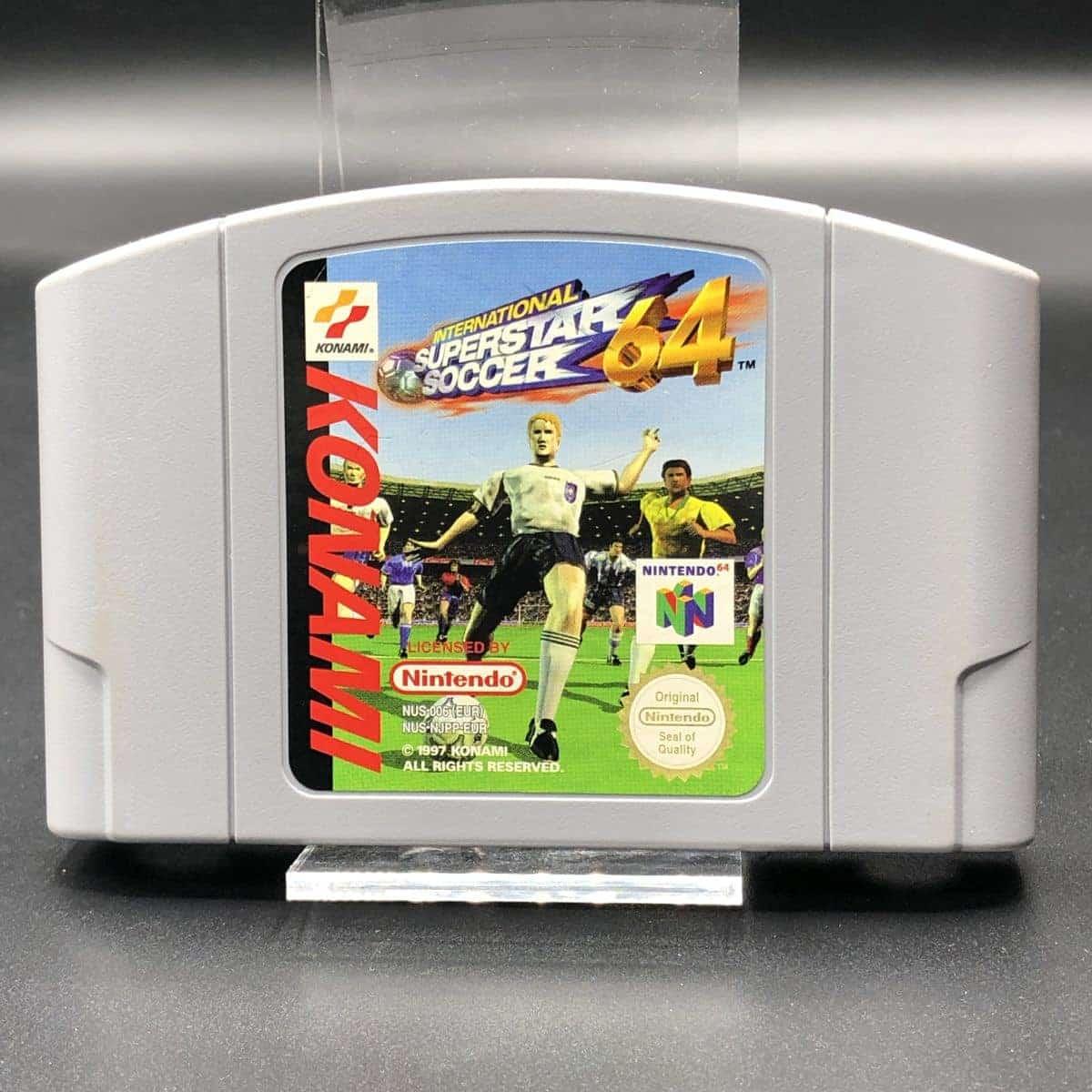 N64 International Superstar Soccer 64 (Modul) (Gut) Nintendo 64