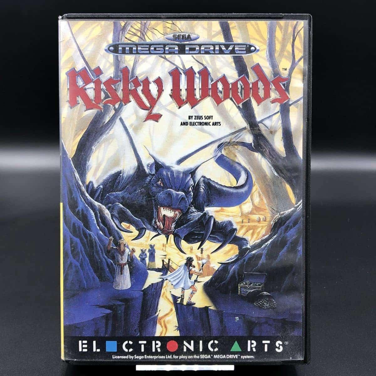 Risky Woods (Komplett) (Sehr gut) Sega Mega Drive