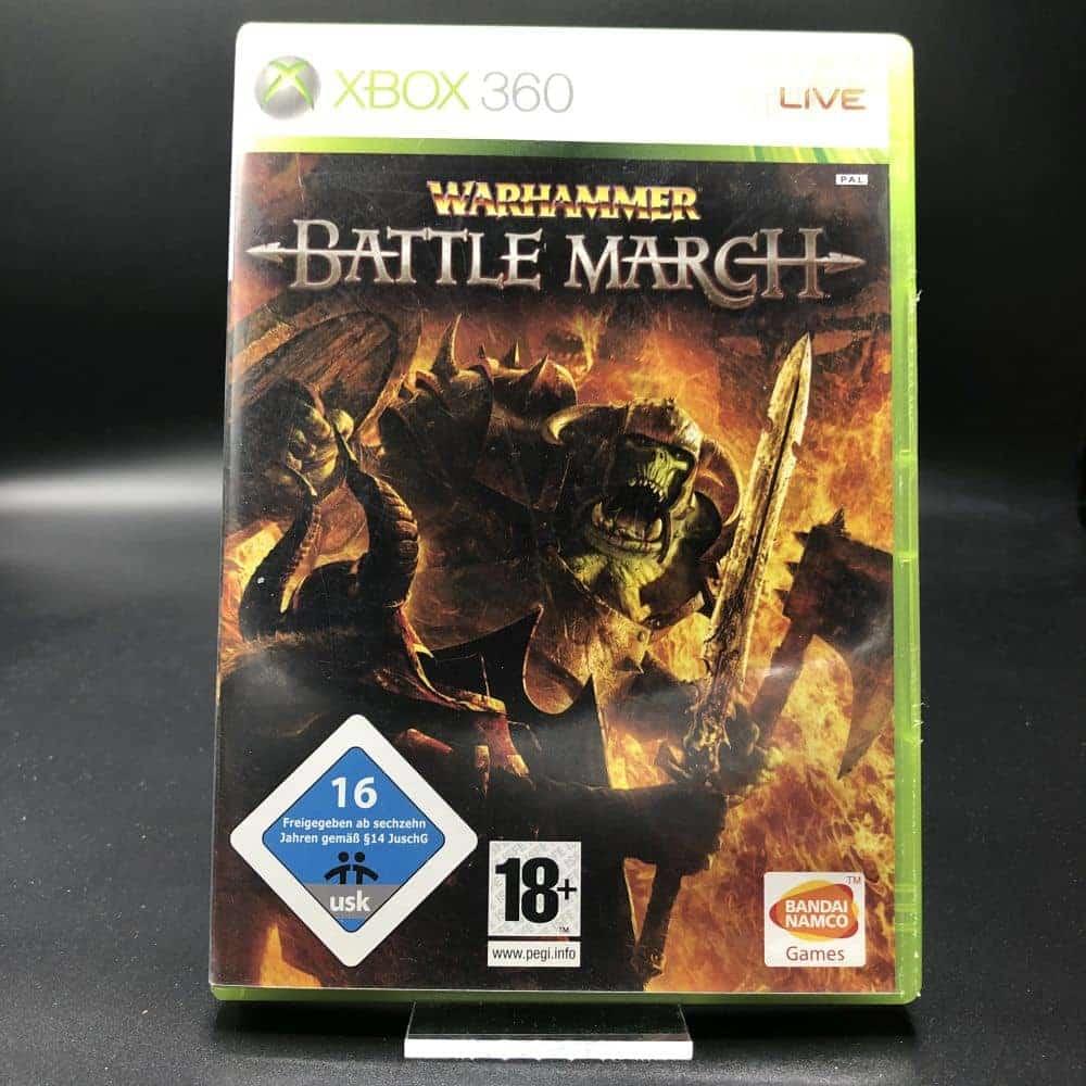 Warhammer: Battle March (Komplett) (Gut) XBOX 360