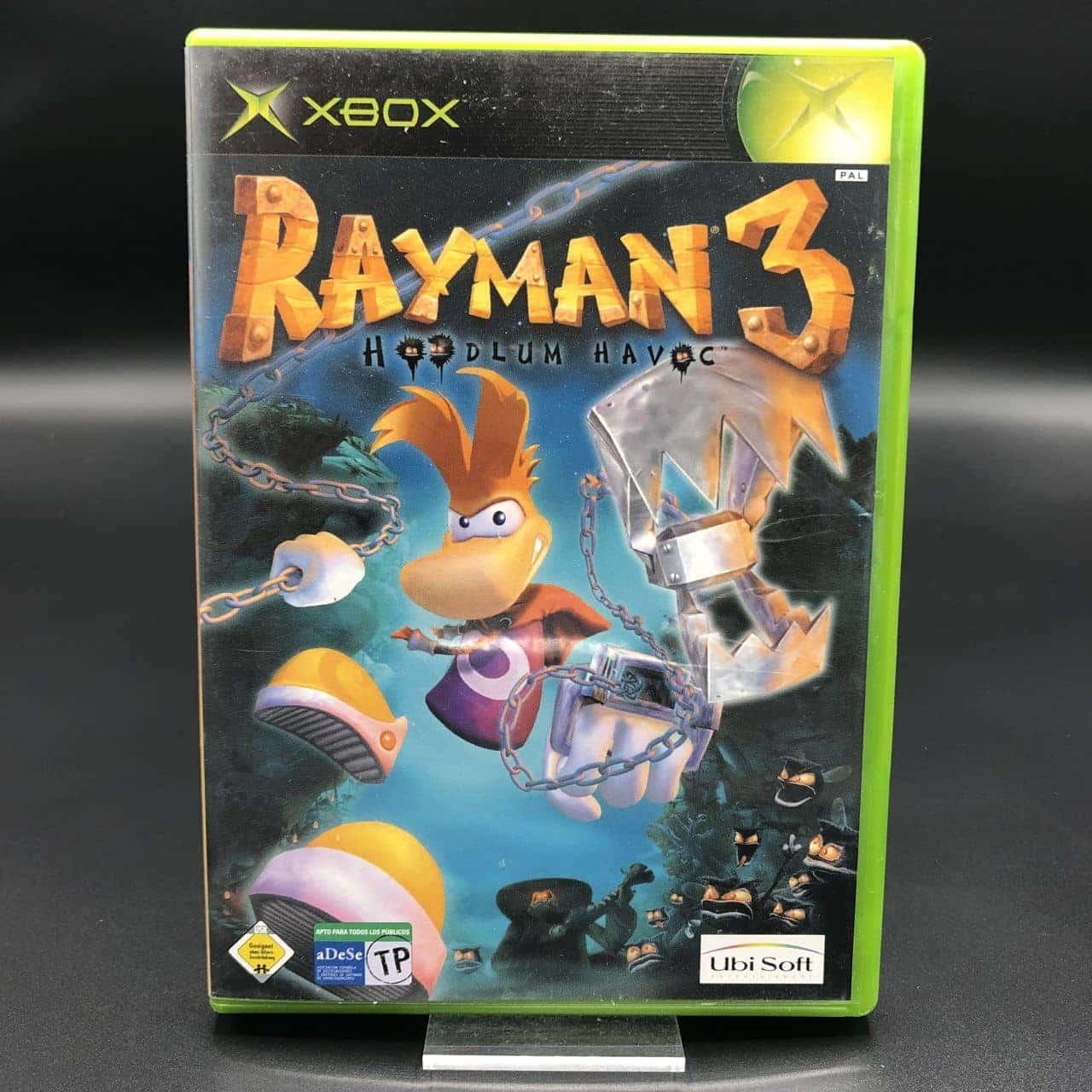 XBC Rayman 3: Hoodlum Havoc (Komplett) (Gut) Microsoft Xbox Classic