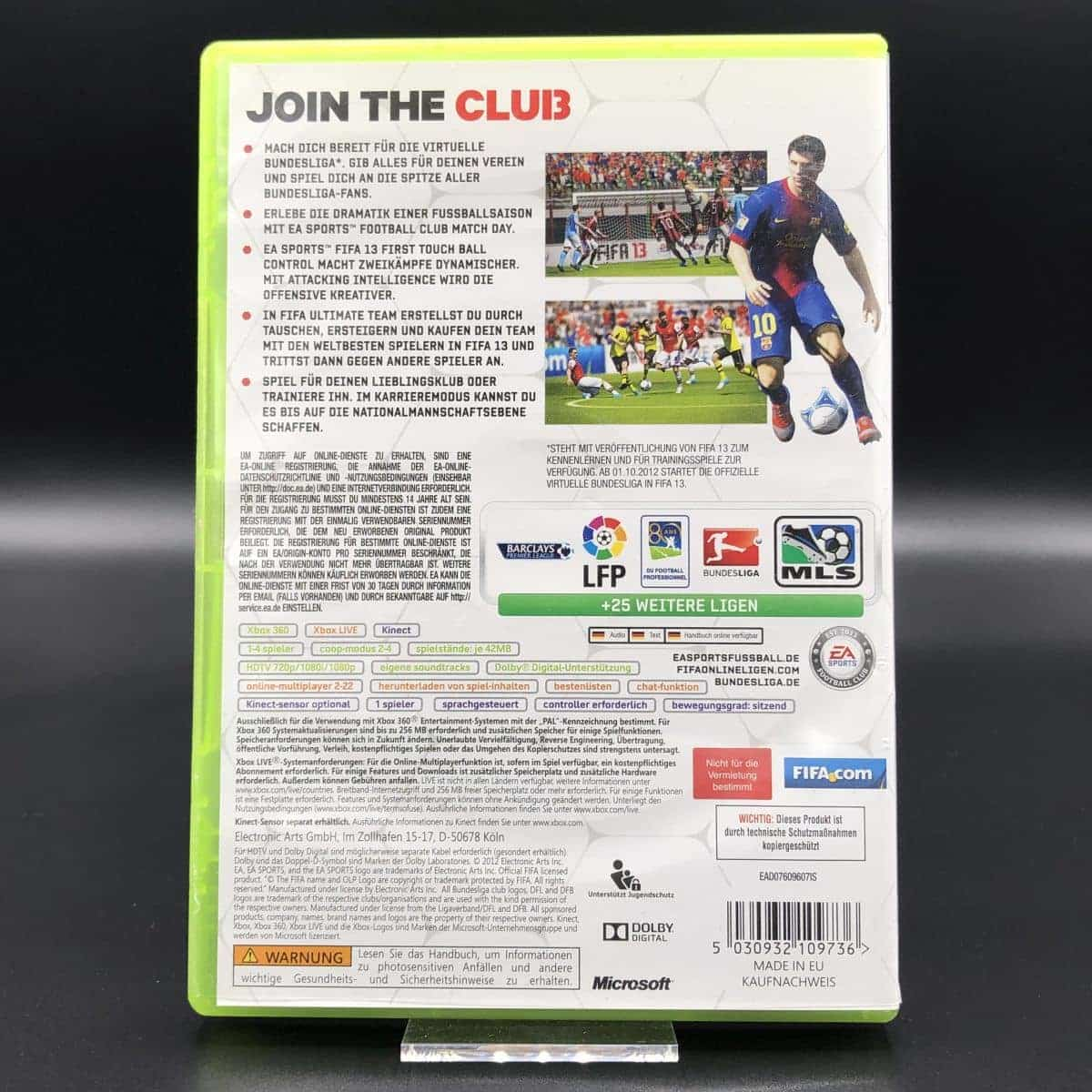 FIFA 13 (ohne Anleitung) (Gut) XBOX 360