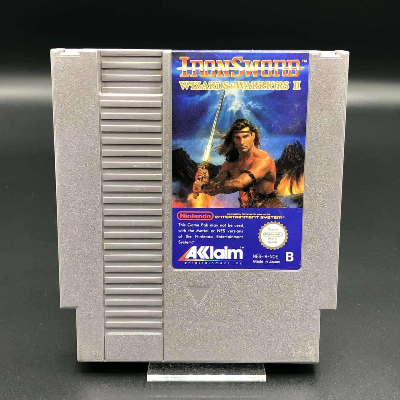 NES Ironsword: Wizards & Warriors II (Modul) (Gut) Nintendo Entertainment System #1