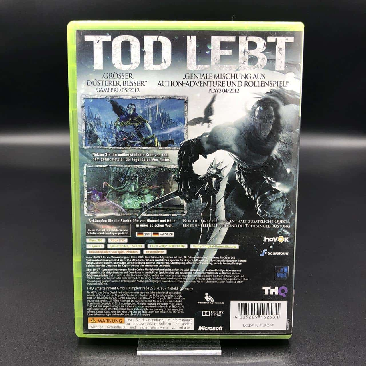 Darksiders II (First Edition) (Komplett) (Sehr gut) Xbox 360