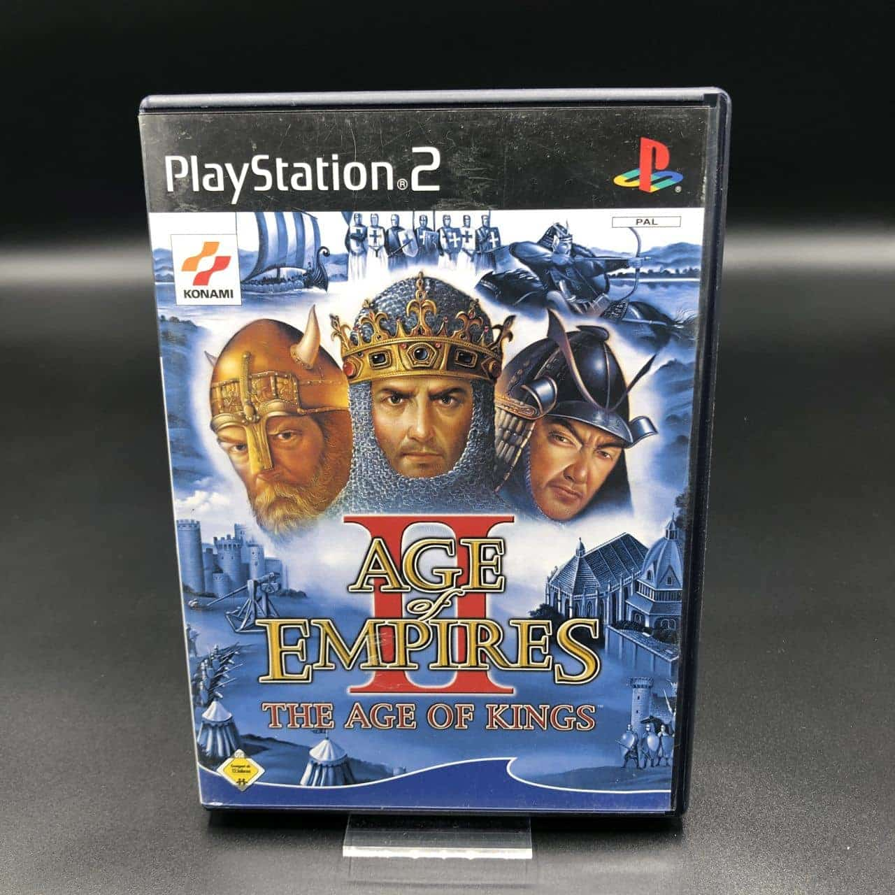 PS2 Age of Empires II: The Age of Kings (Komplett) (Gebrauchsspuren) SonyPlaystation 2