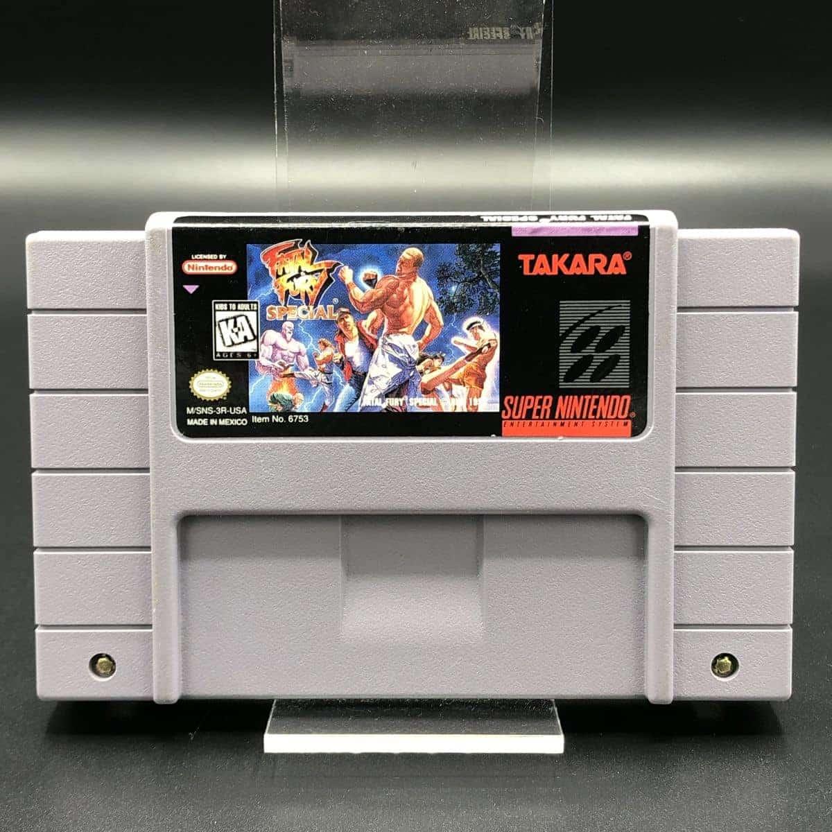 SNES Fatal Fury Special (Import) (Modul) (Gut) Super Nintendo