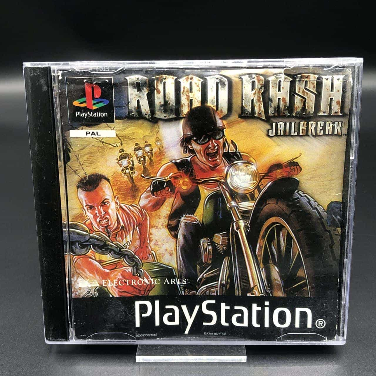 PS1 Road Rash Jailbreak (ohne Back Cover, mit Anleitung) (Gebrauchsspuren) Sony PlayStation 1