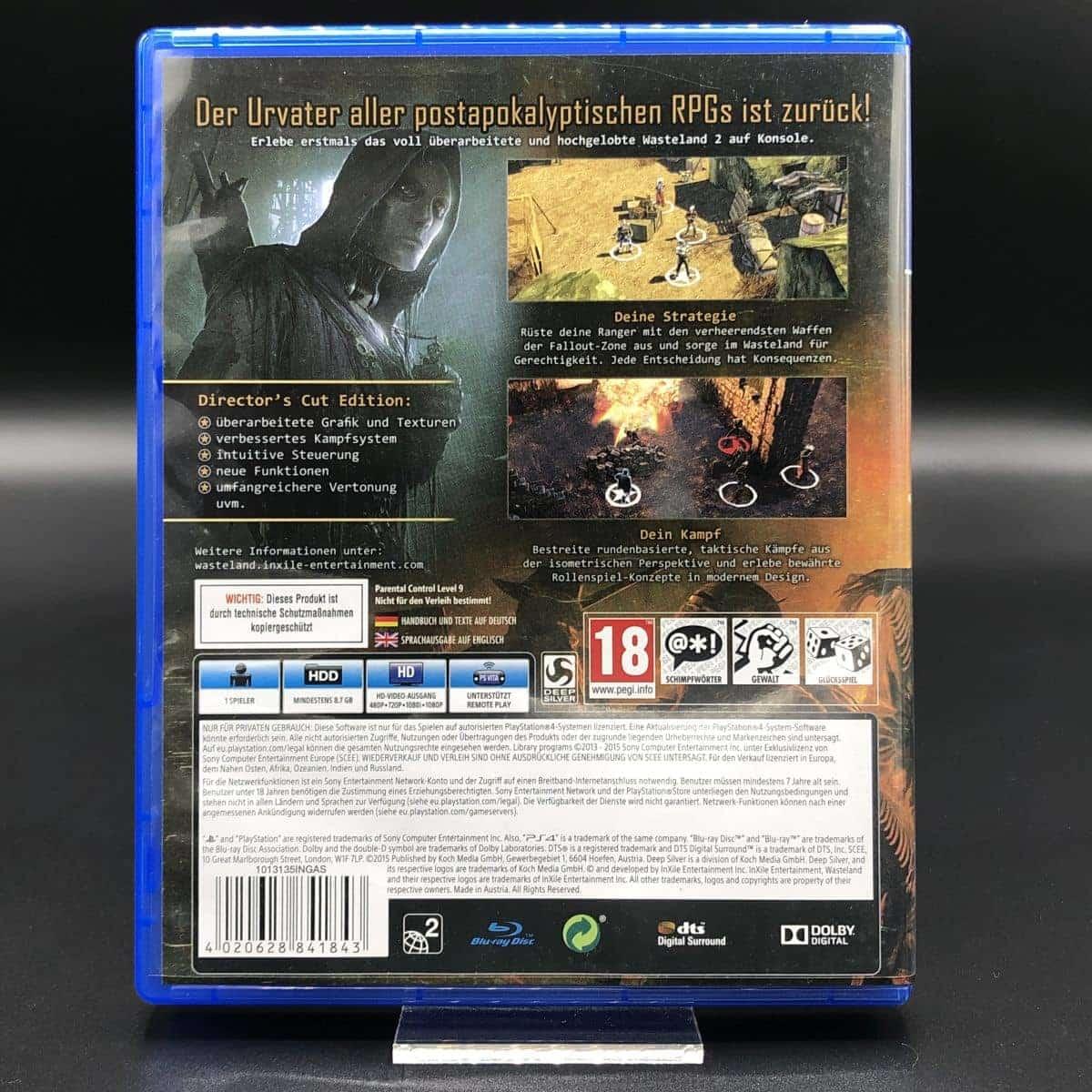 PS4 Wasteland 2: Director's Cut (Sehr gut) Sony PlayStation 4