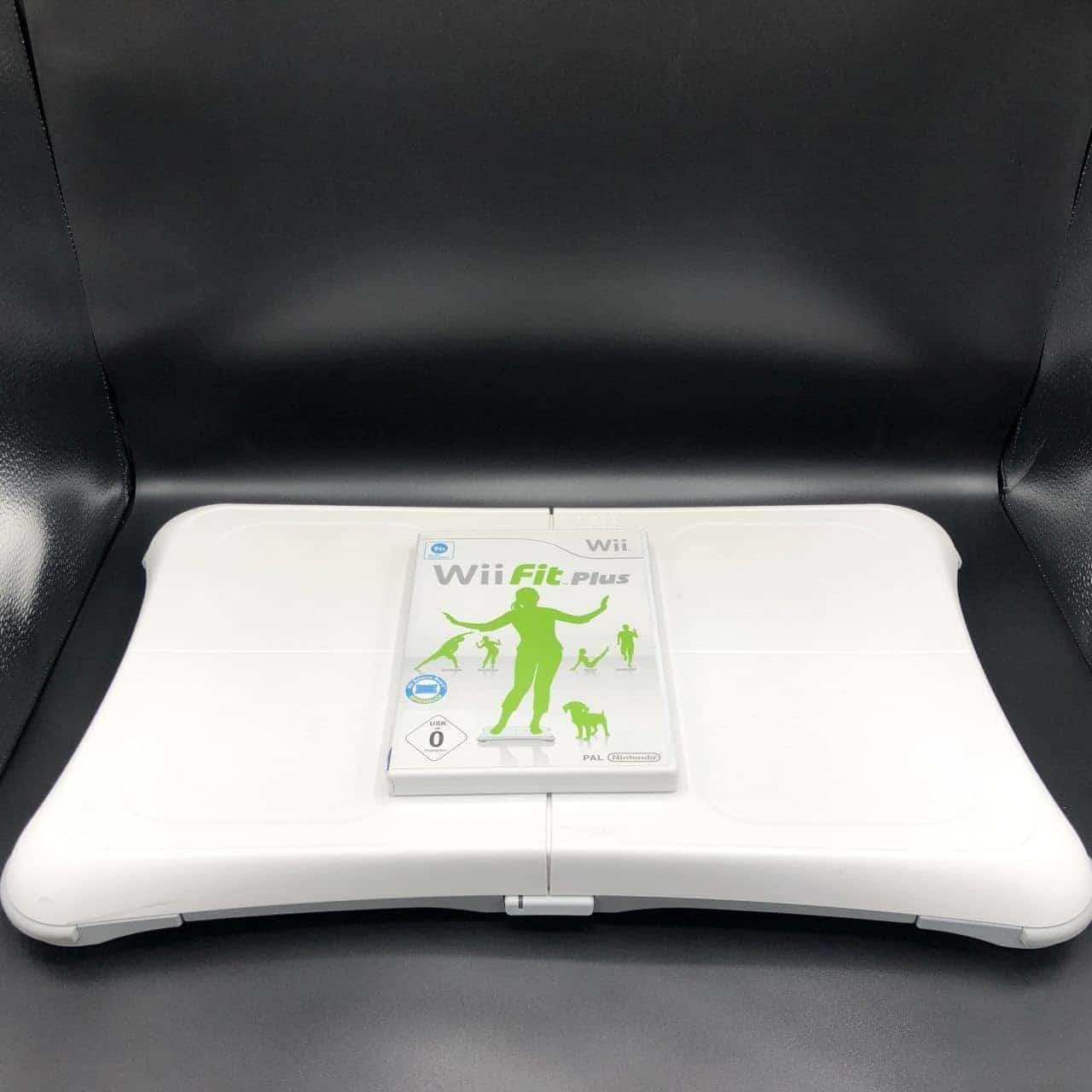 Wii Balance Board (Gut) + Wii Fit Plus Spiel (Sehr gut) Nintendo Wii