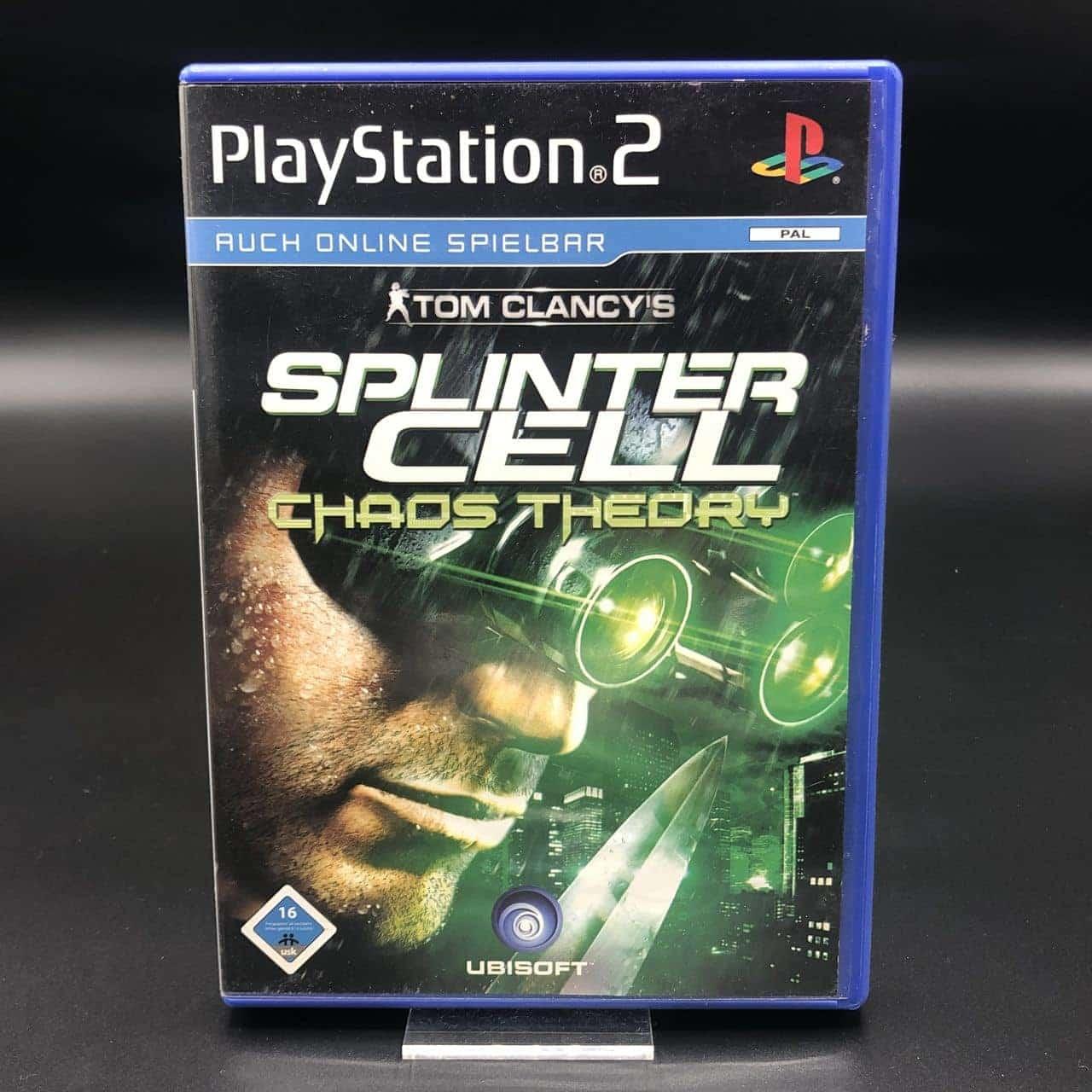 PS2 Tom Clancy's Splinter Cell: Chaos Theory (Komplett) (Sehr gut) Sony PlayStation 2