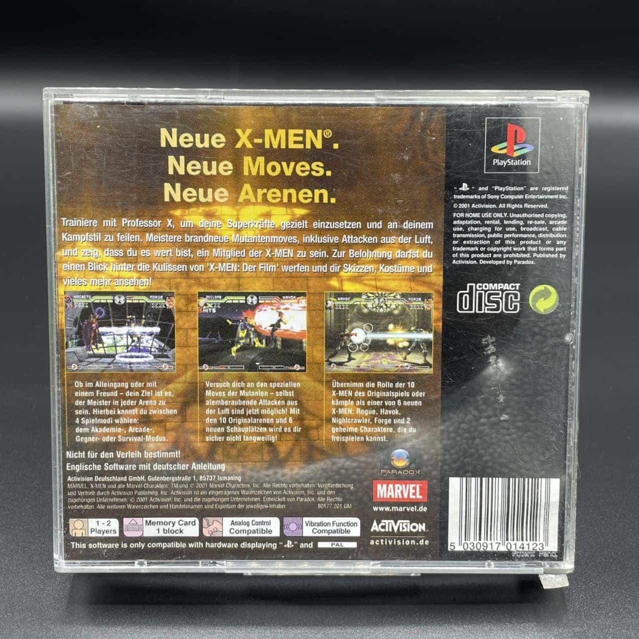 PS1 X-Men: Mutant Academy 2 (Komplett) (Sehr gut) Sony PlayStation 1