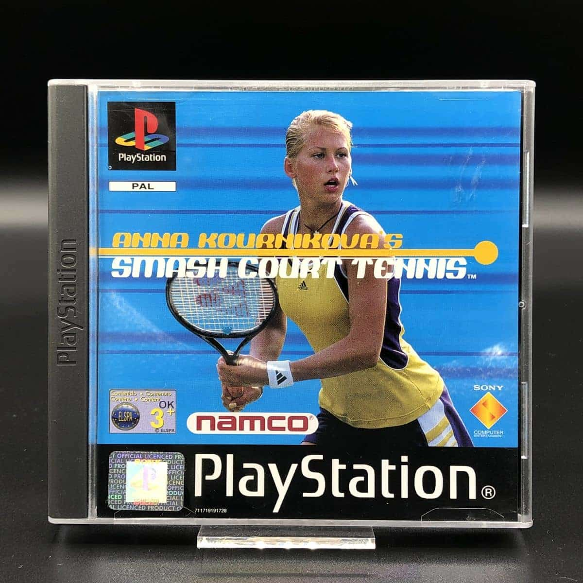 PS1 Anna Kournikova's Smash Court Tennis (Komplett) (Sehr gut) Sony PlayStation 1