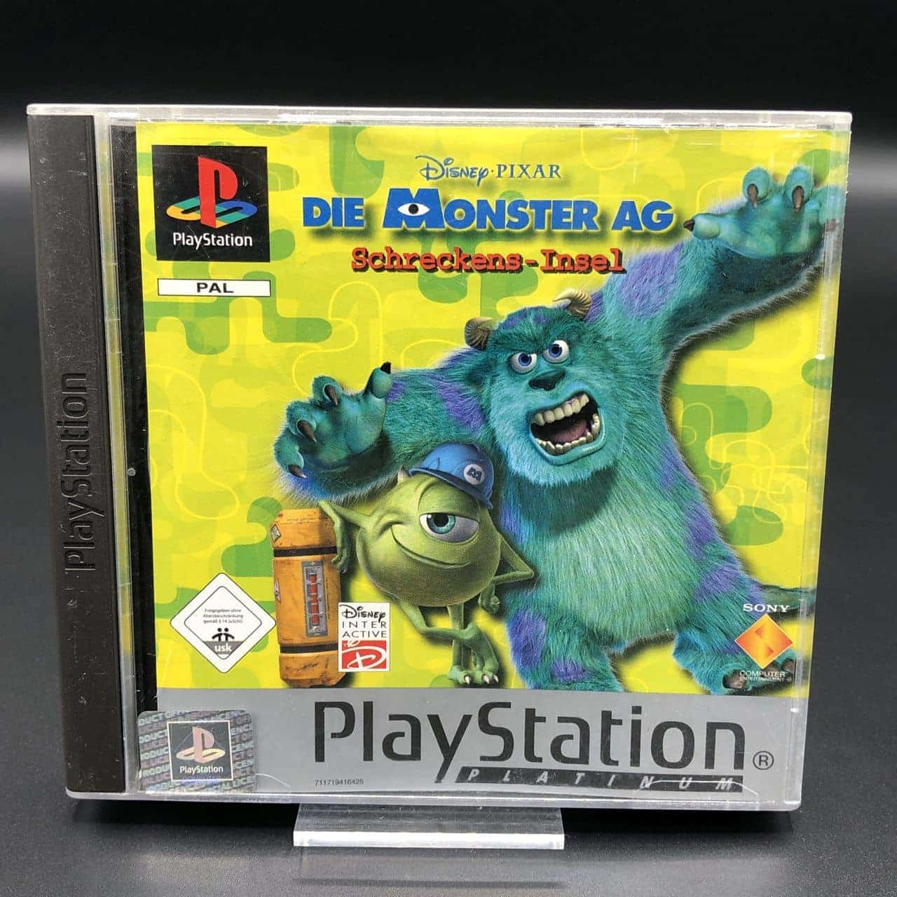 PS1 Die Monster AG: Schreckens-Insel (Platinum) (Komplett) (Sehr gut) Sony PlayStation 1