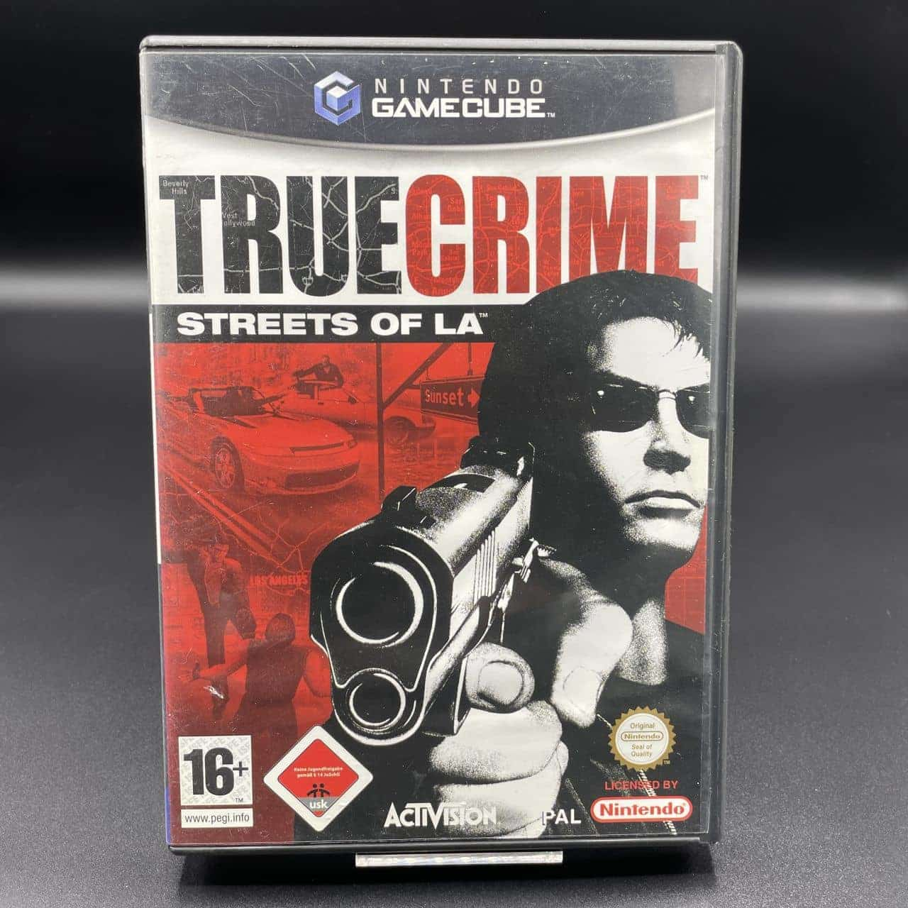 GC True Crime: Streets of LA (Komplett) (Sehr gut) Nintendo GameCube (FSK18)