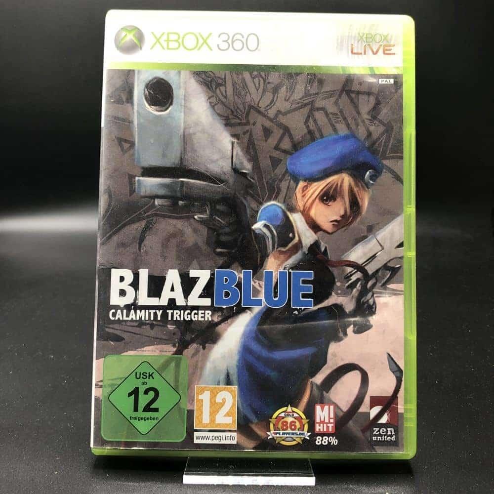 BlazBlue: Calamity Trigger (Komplett) (Sehr gut) XBOX 360