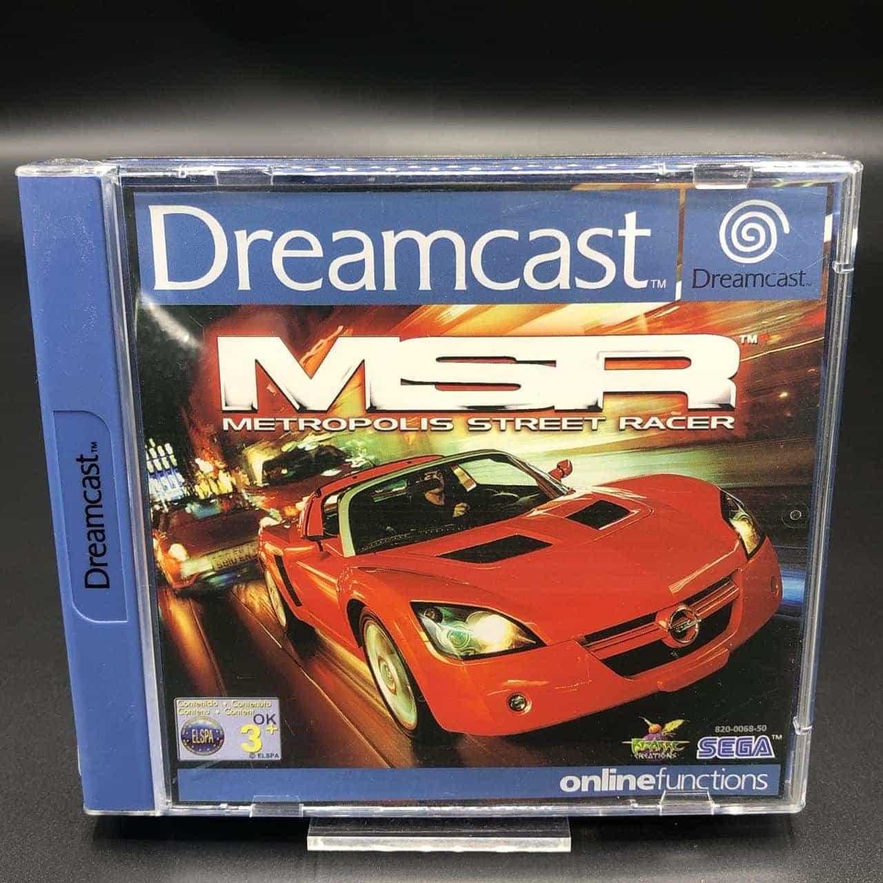Metropolis Street Racer (ohne Anleitung) (Gut) Sega Dreamcast