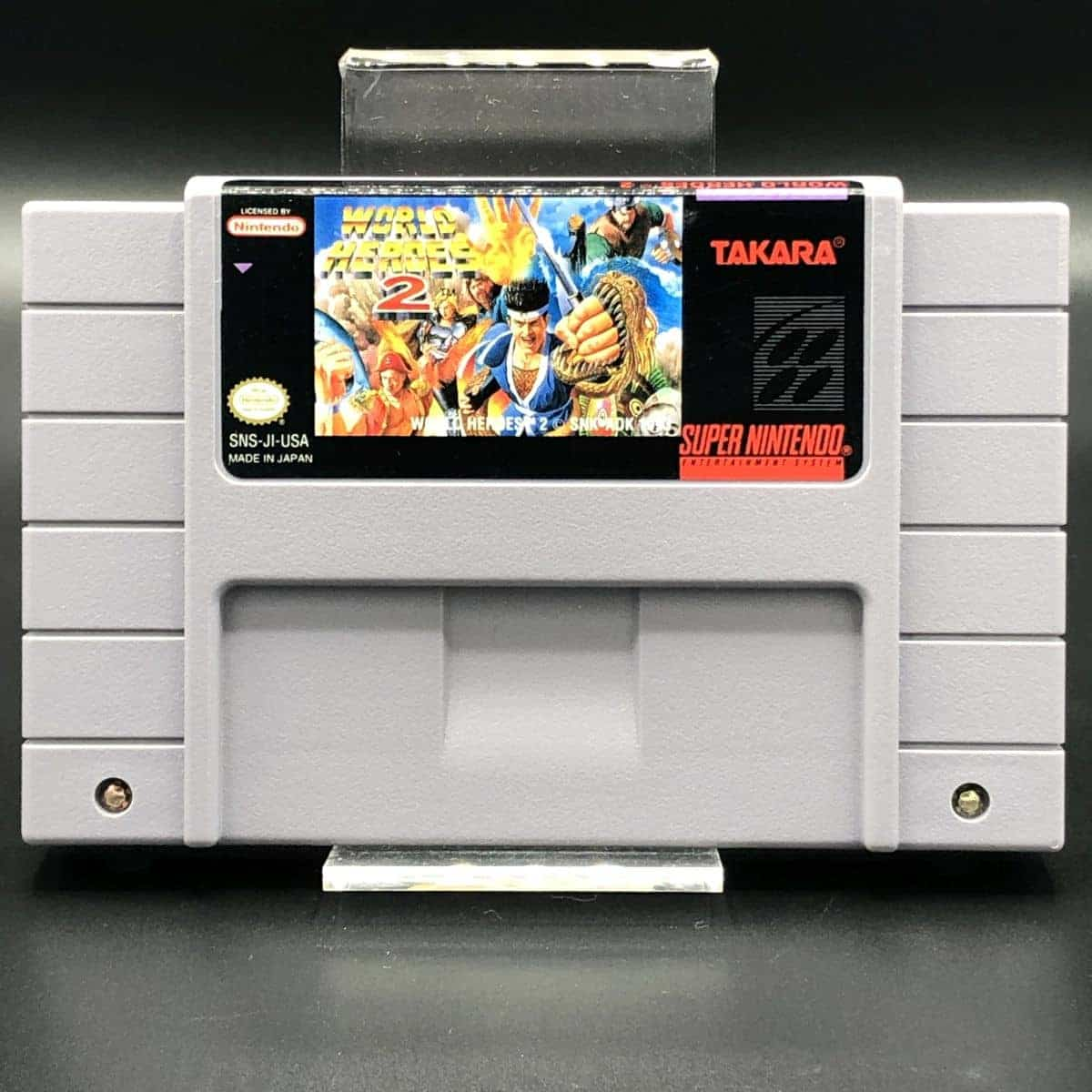 SNES World Heroes 2 (Import) (Modul) (Sehr gut) Super Nintendo