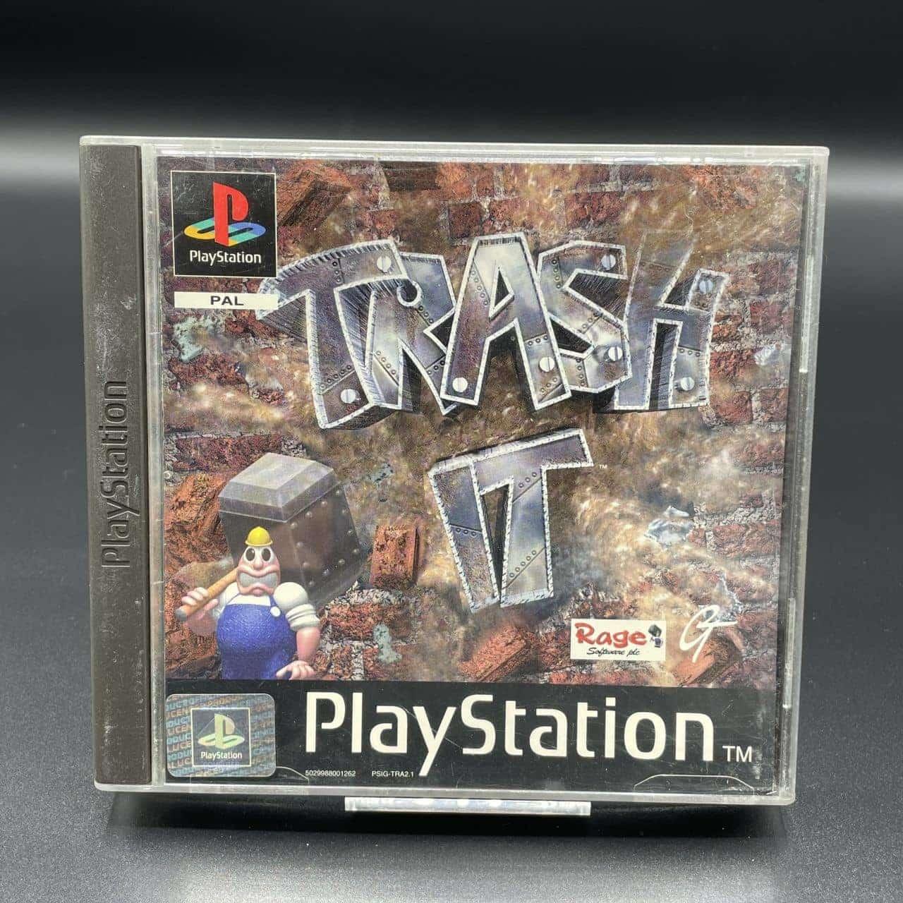 PS1 Trash It (Komplett) (Gebrauchsspuren) Sony PlayStation 1