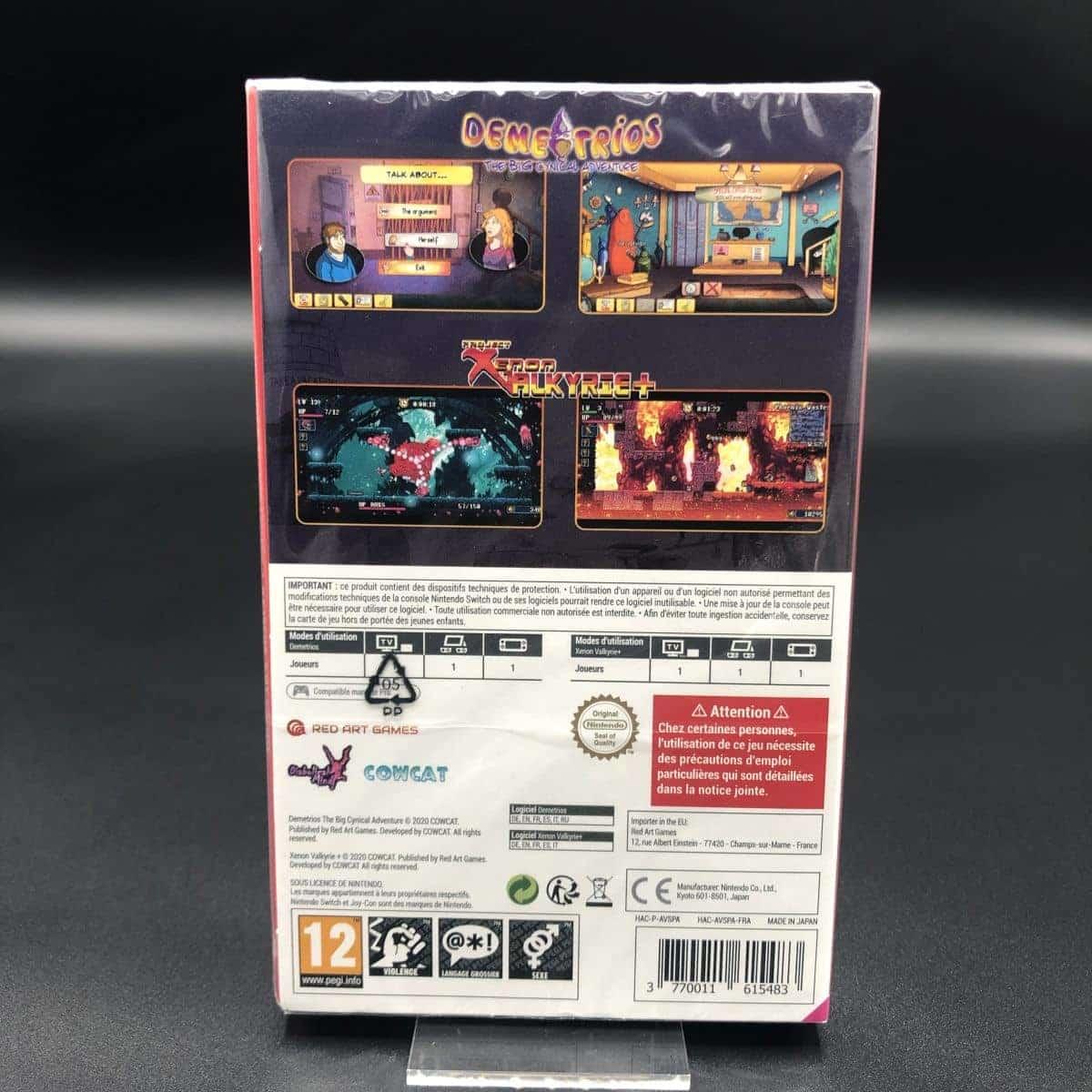Demetrios The Big Cynical Adventure & Project Xenon Valkyrie+ (NEU) Nintendo Switch