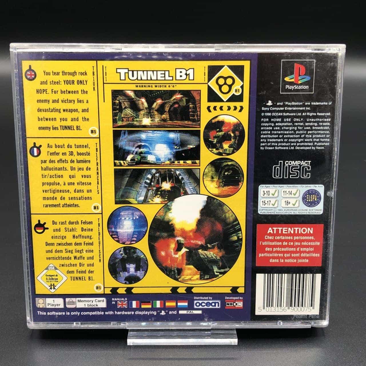 PS1 Tunnel B1 (Komplett) (Sehr gut) Sony PlayStation 1