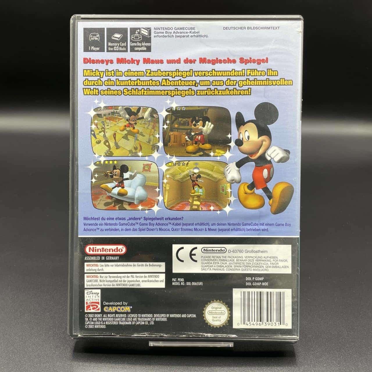 GC Disney's Magical Mirror Starring Mickey Mouse (Komplett) (Gebrauchsspuren) GameCube