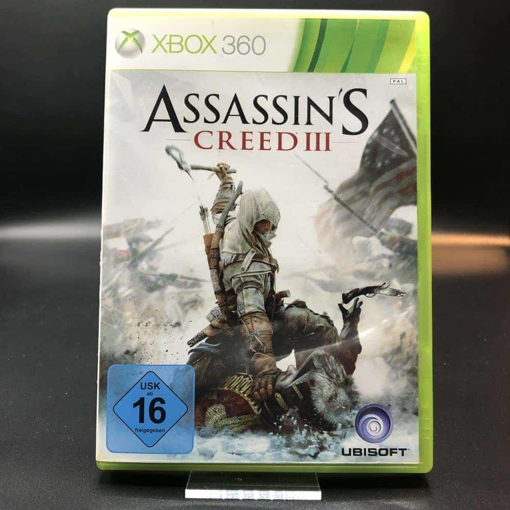 Assassin's Creed III (Komplett) (Sehr gut) XBOX 360