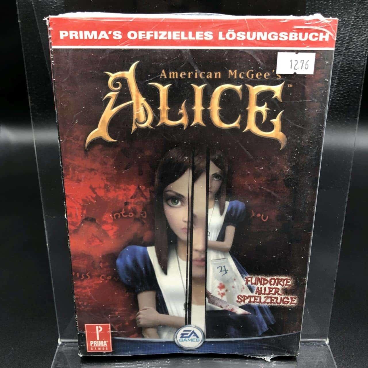 American McGee's Alice - Offizielles Lösungsbuch (NEU)